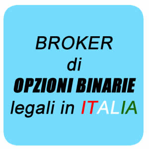 opzioni binarie legali in Italia